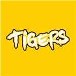 Tigers Sketched - White/Black