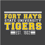 Fort Hays Tigers - Gold/White