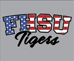 FHSU Tigers - Red/White/Blue