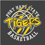FHSU Basketball - Gold/White