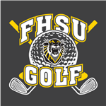 FHSU Golf - White/Gold