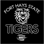 FHSU Tigers Football - White
