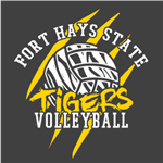 FHSU Volleyball - Gold/White
