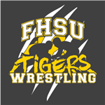 FHSU Wrestling - Gold/White