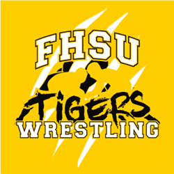 FHSU Wrestling - Black/White