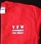 VFW Supports Red Friday Tee